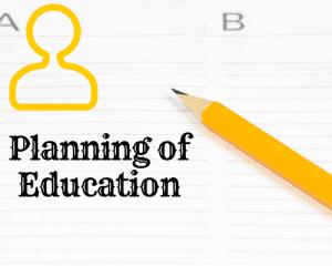 Planning of educator