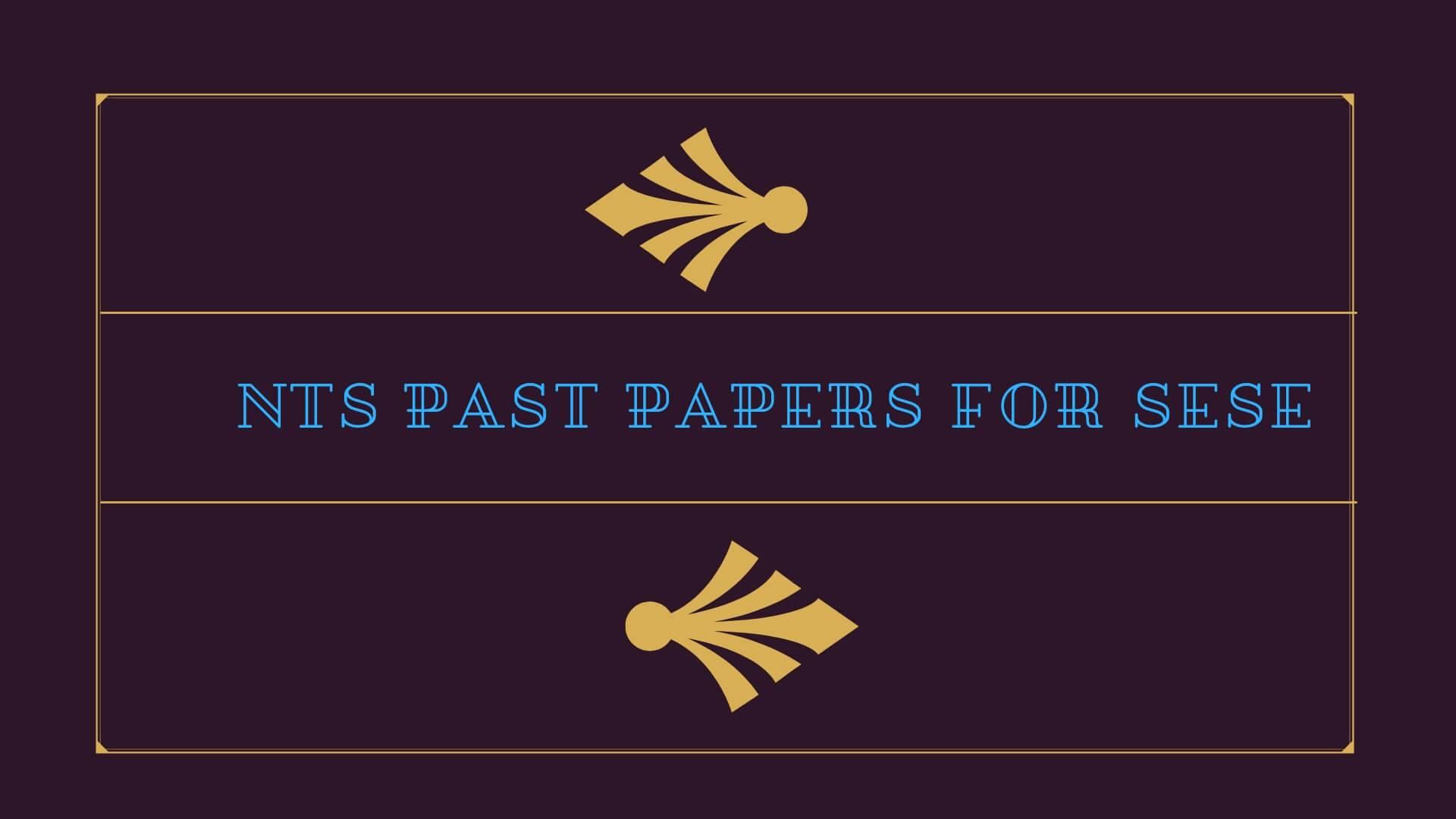 nts test sample paper for teachers pdf