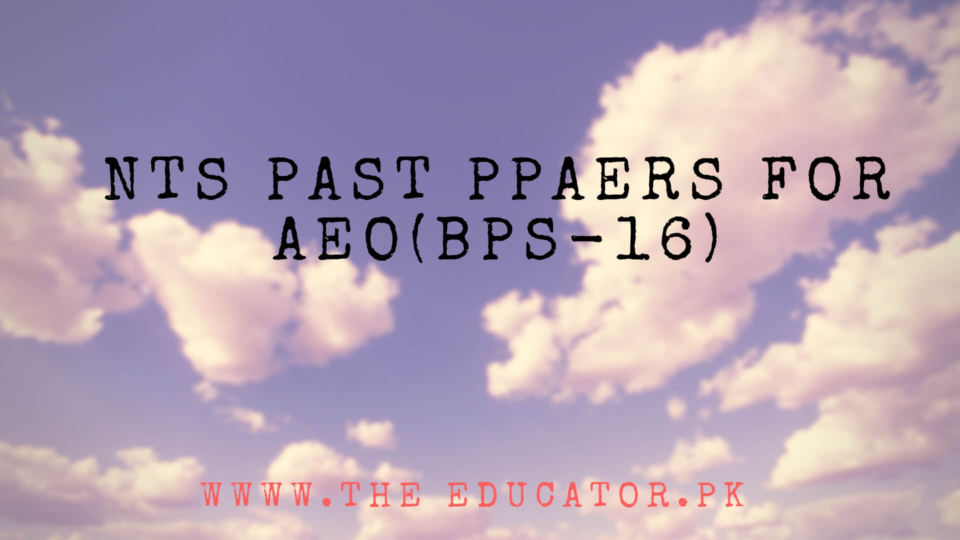 nts past papers solved