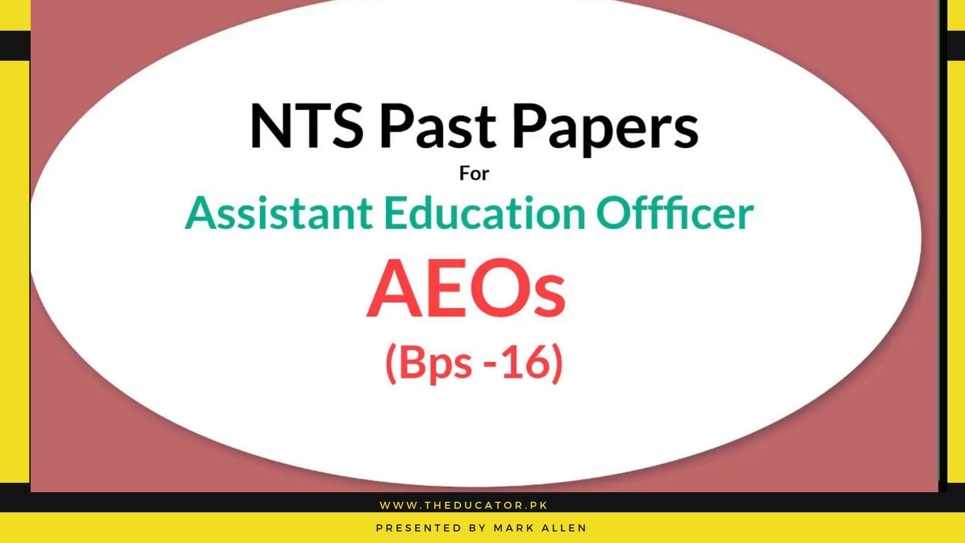 Educators AEO Past Papers