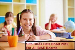 10th class exam paper