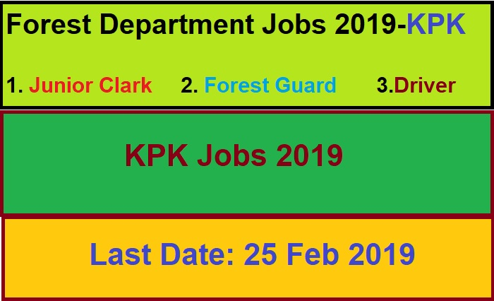 jobs in forest department kpk,