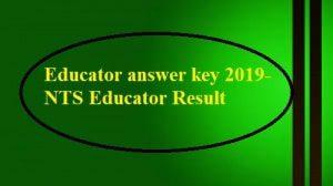 Educators Answer Key