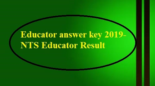 Educators Answer Key