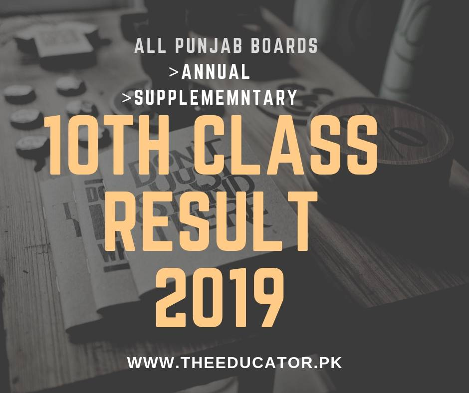 10th class result 2019 multan board