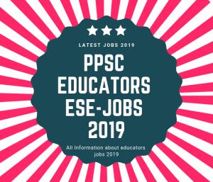 ppsc educators ESE jobs