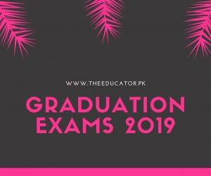 ba part 2 date sheet 2019 punjab university