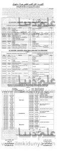 date sheet 2nd year 2019 sahiwal board