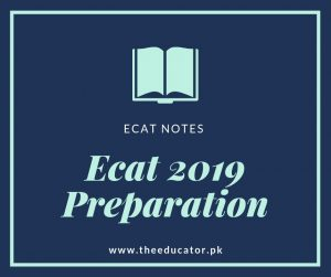 How to prepare for ECAT