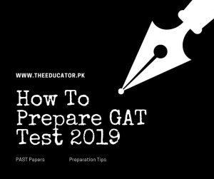 gat test sample