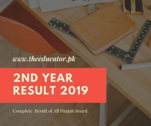 inter 2nd year result 2019