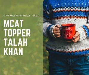 mdcat topper 2018