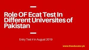 ecat test instructions