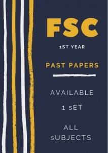 1st year past papers lahore board 2018