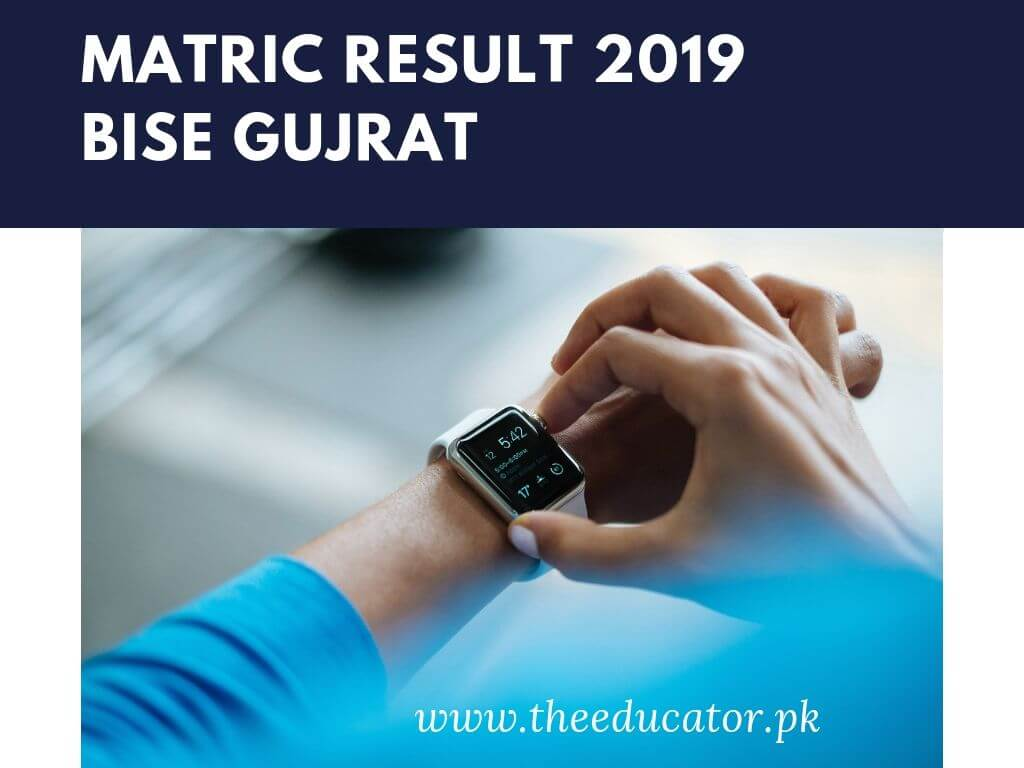 matric result 2019 bise Gujrat