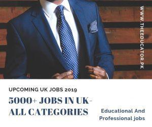 jobs in UK 2019