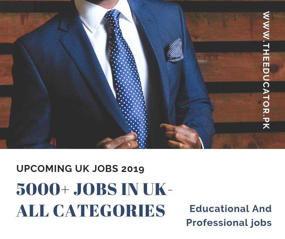 jobs in UK 2019