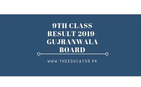class 9th result 2019