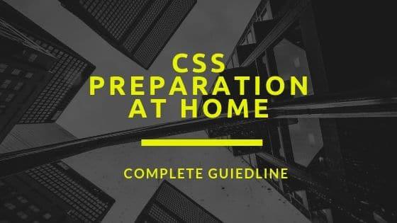 css preparation schedule