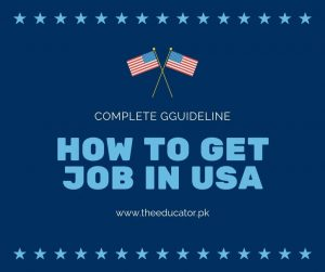 How can i get jobs in usa