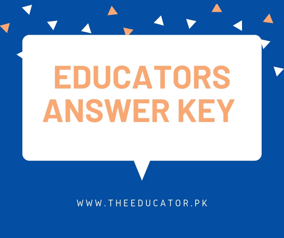 Educators ESE Answer Key