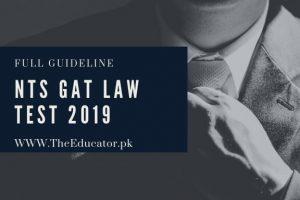 Gat Law Test Schedule