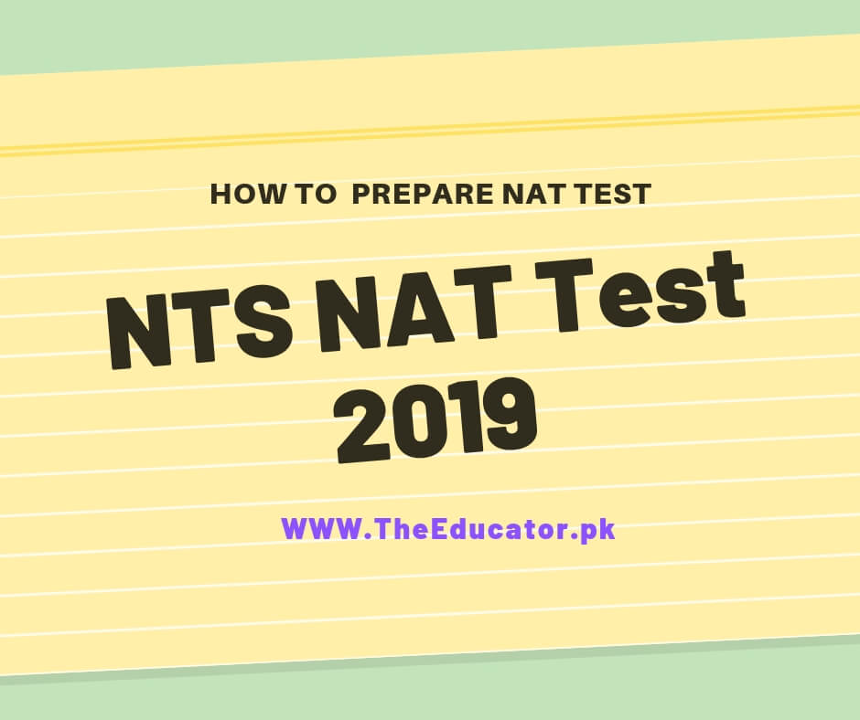 nat test schedule 2019