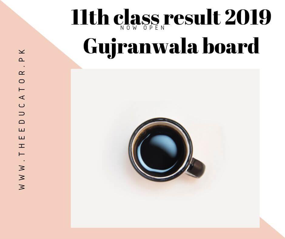 1st year result 2019 gujranwala board