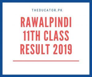 1st year result 2019 bise rawalpindi