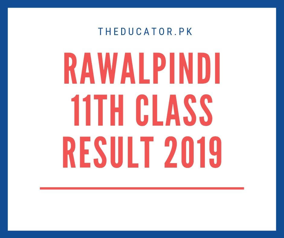 1st year result 2019 bise rawalpindi