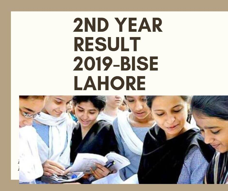 bise lahore inter result 2019