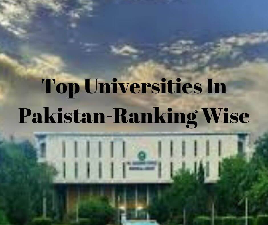 top best universities in Pakistan