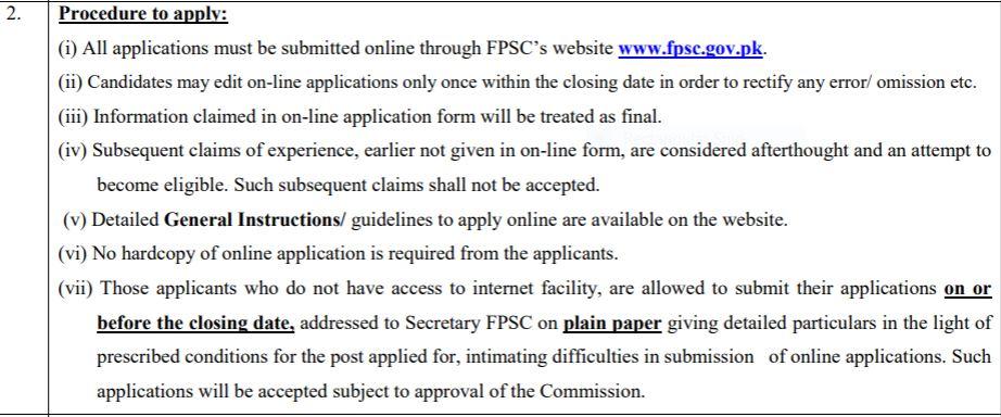 how to apply for fpsc teachers jobs 2019