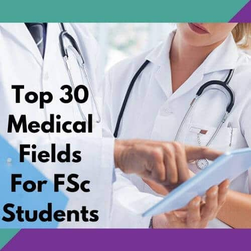 Best medical fields in pakistan