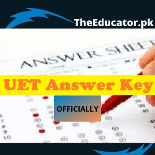 UET entry Test Result