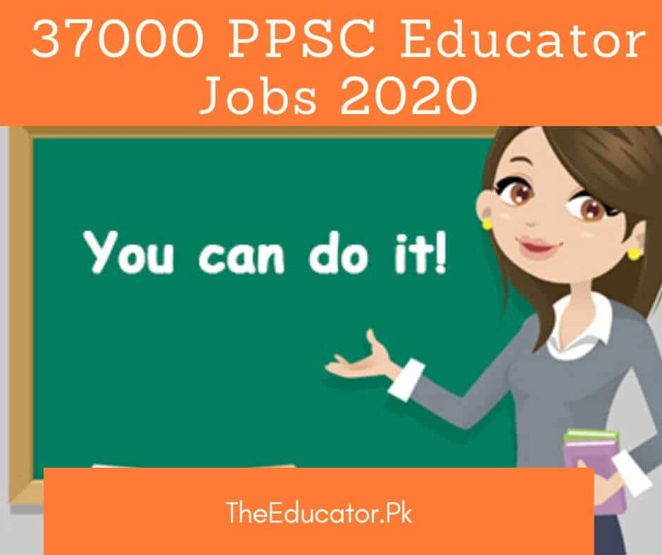 ppsc educator jobs 2020