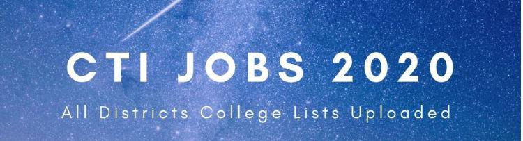 college jobs 2020
