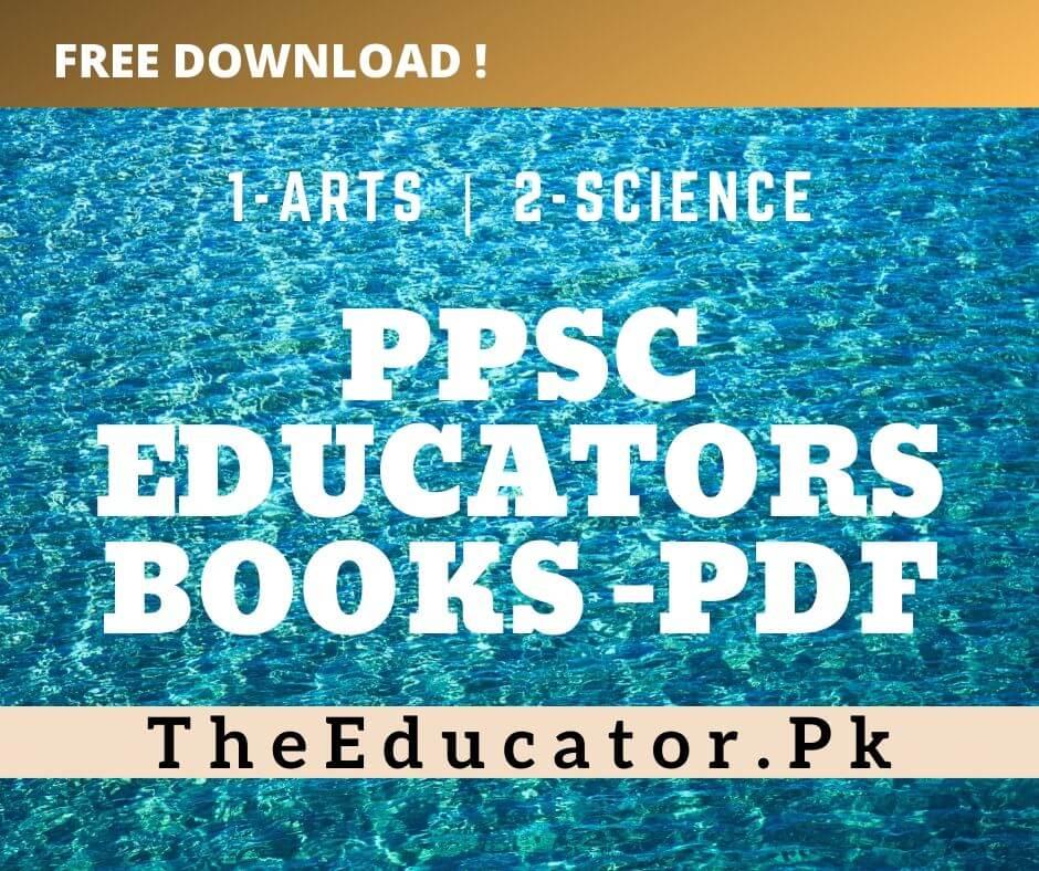 ppsc educators test preparation books
