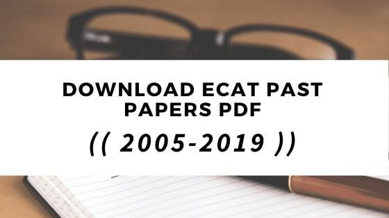 ecat past papers in pdf