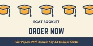 ecat past papers
