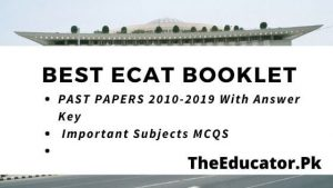 best ecat booklet