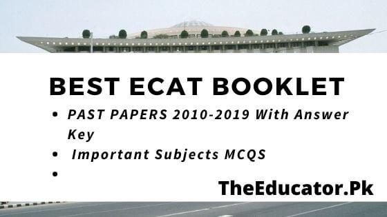 best ecat booklet